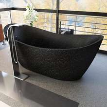 Terrazzo Bathtub DKB020 - Nature Materials, Finished by hand