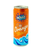 Ooh Sunny Carbonated Orange Soft Drink can 325ml HOT SELLING