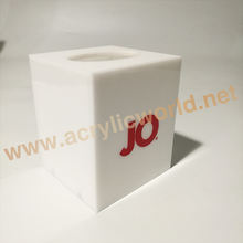 Acrylic Tissue Box, Wall Hanging Perspex Napkin Holder