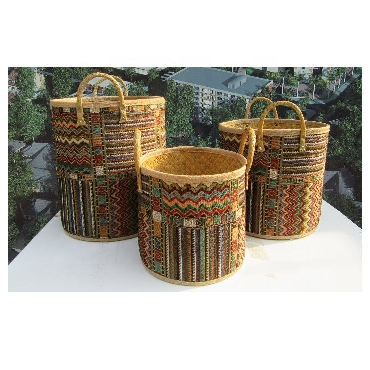 High quality best selling eco-friendly seagrass storage basket from Vietnam