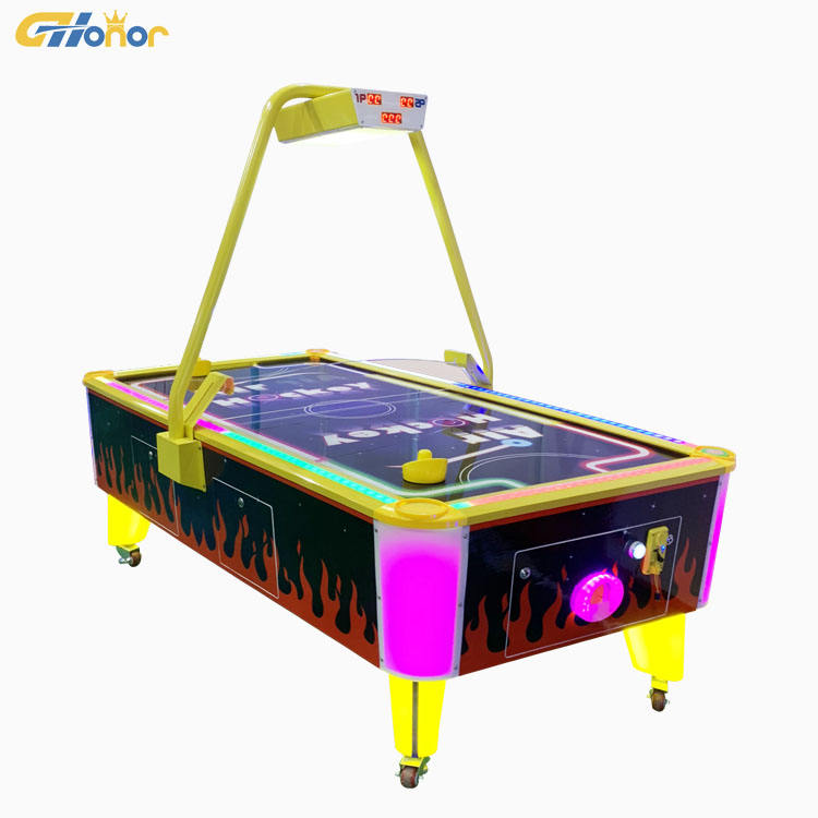 Adults Ice Air Hockey Table Entertainment Ticket Redemption Game Machine Electronic Hockey Table Game