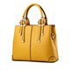 new design pure leather ladies bag stylish cord handle shoulder style women bag