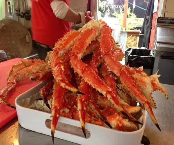 Live Canadian Red King Crabs