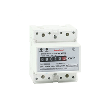 Factory directly sales din rail and panel electricity energy meter