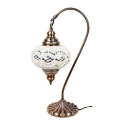 Best Quality Mosaic Glass Neck Lamp Moroccan and Turkish Table Lamps for Home Decor