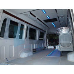 for sprinter crafter aftermarket extra long L4H2 interior trim kit set made of abs vacuum forming