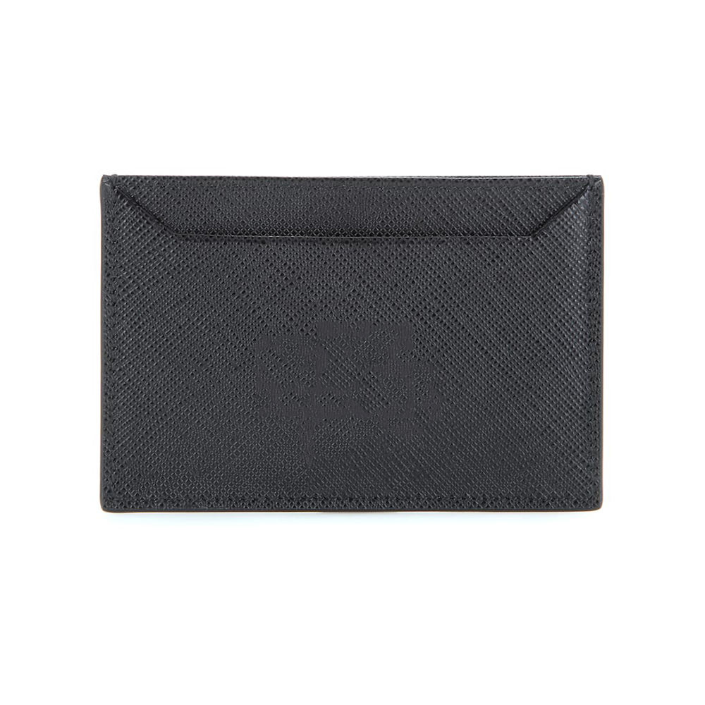 Saffiano Genuine Leather Card Holder