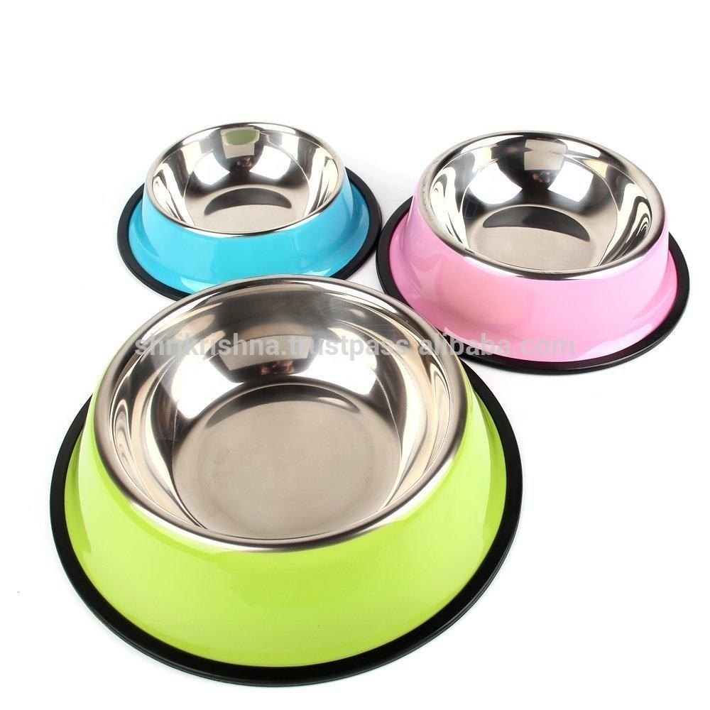 Pet Products Stainless Steel Dog Bowl Manufacturer
