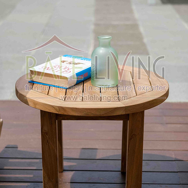 Best Quality Coffee Table Wood Furniture, Pavilion Side Table Round Used Coffee Table