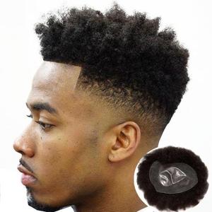 Afro Hairpieces Man Hair Wig Natural Toupee,Afro Toupee For Black Men Thin Skin Ng Toupee Hair Wig Hair Replacement System