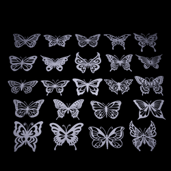 Butterfly Wall Hangs Decoration - Make your Own Custom Product in MOQ1 (Design, Size, Color, Material) & 3D Printed On-Demand