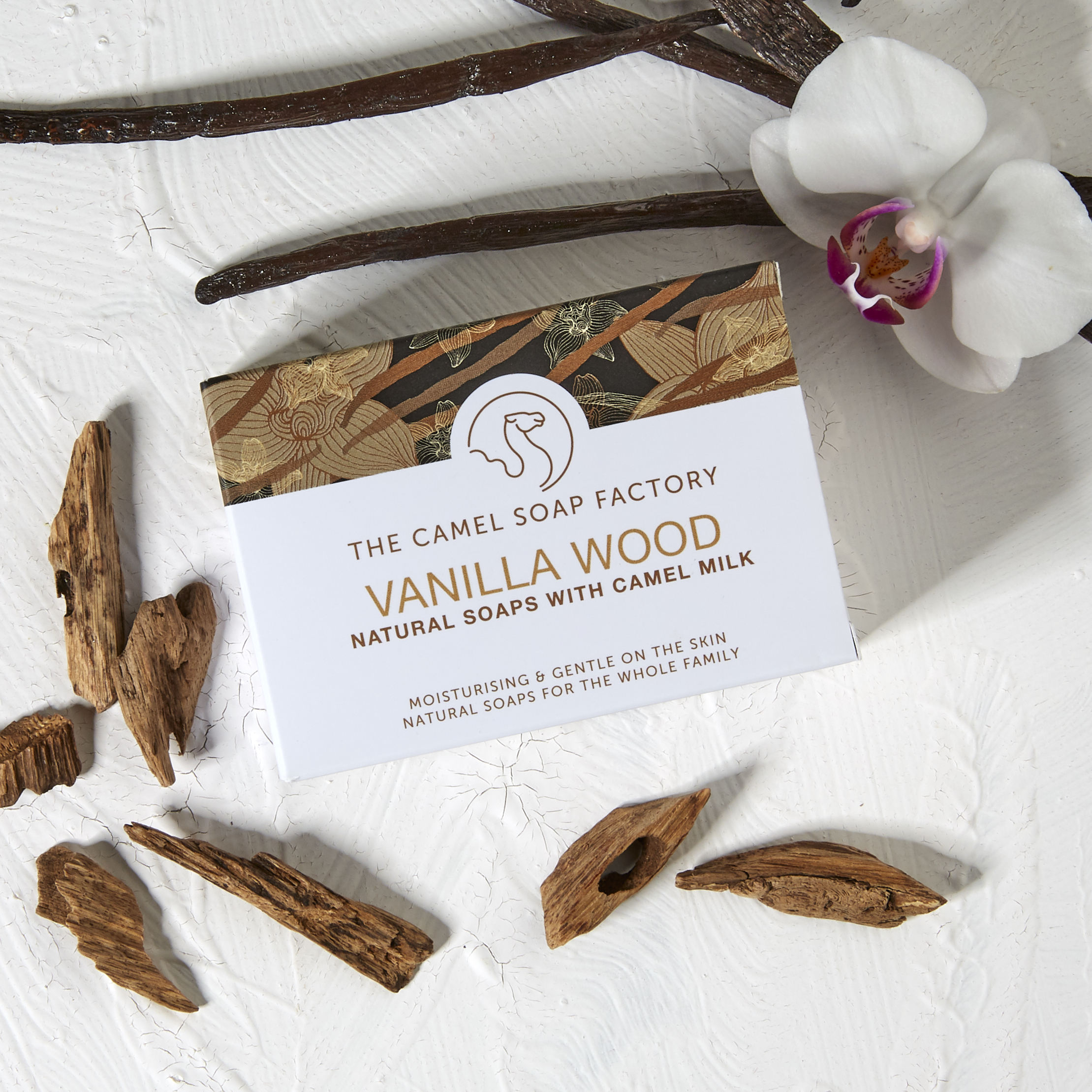 Vanilla Wood Natural Soap
