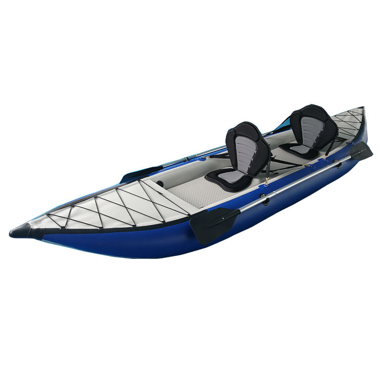Solarmarine Professional Inflatable Rowing Boats 3-9 Person Aluminum Floor Inflatable Speed Boat Wear-Resistant Fishing Kayak