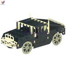 3d pop up craftkit outstanding colourful car , vehicle paper craft DIY Toys