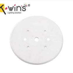 electrical  round plate 3'' x 3''