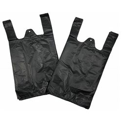 100% recycle and resealable plastic t-shirt bag for sale