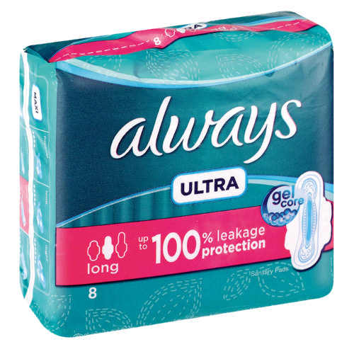 Always Ultra Sanitary Pads