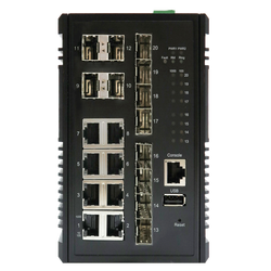 KY-CSX0812 ITS/ SCADA  Layer 3 Switch (Non-PoE)