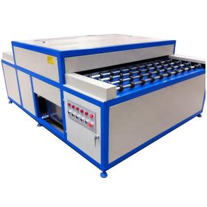 High quality horizontal double glazing glass cleaning drying machine