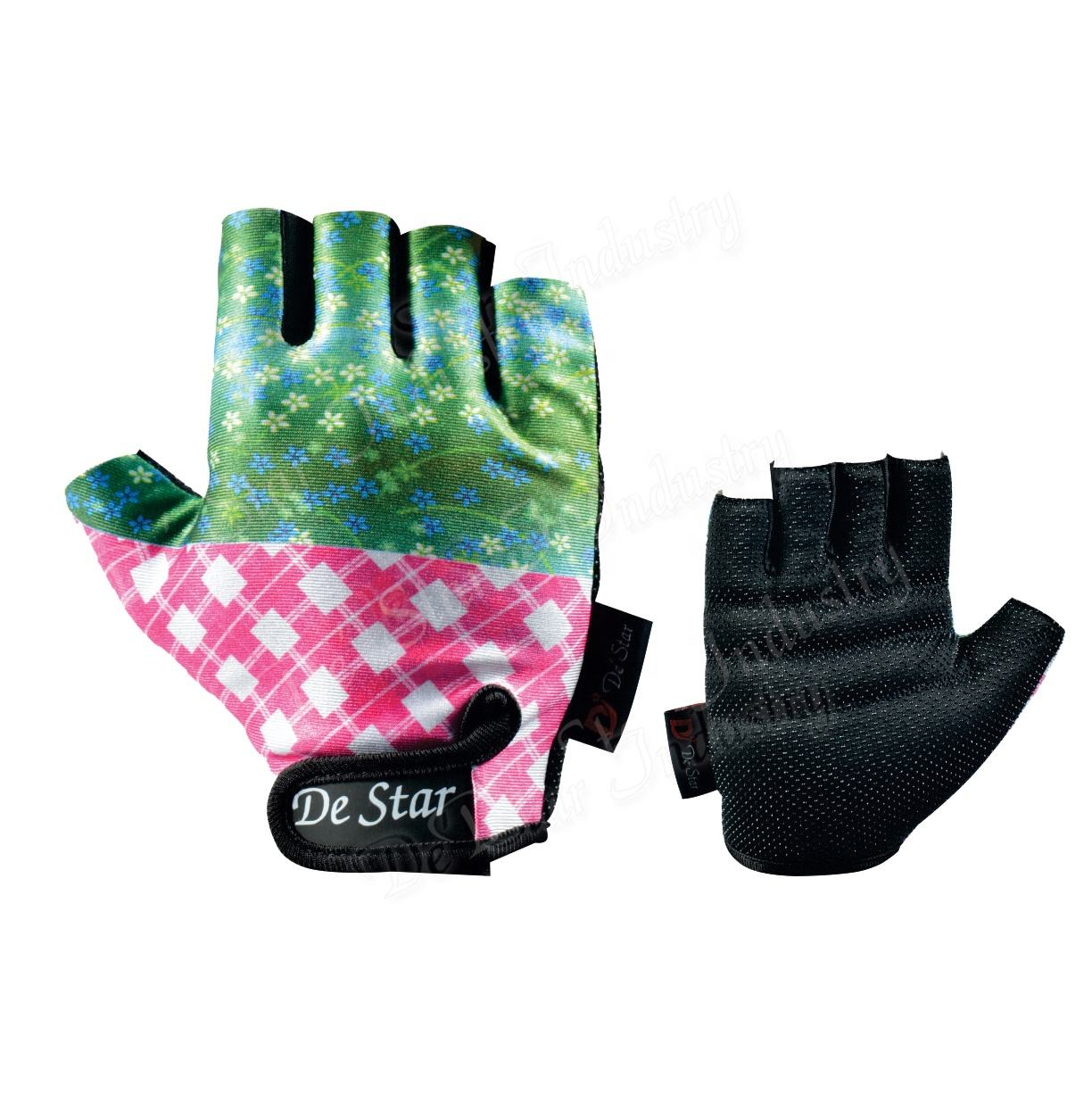 New Adult Bicycling Gloves Racing Gloves Custom Sublimation Design Bike Bicycle Unisex Cycling Gloves