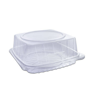 """Disposable Clear Plastic Cake Domes//Container Two Parts//Size From 6/"""" to 12Inch"""