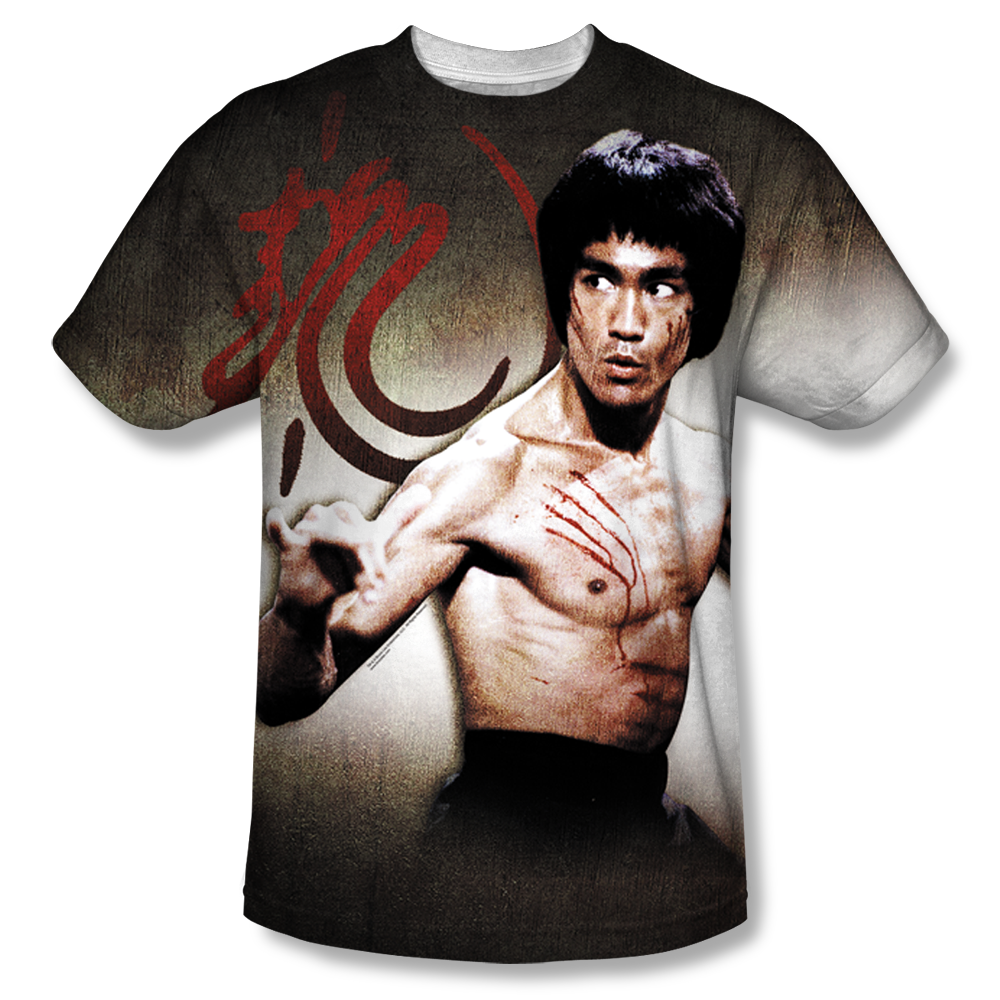 Bruce lee Sublimated T Shirts 3D Printed Men's T-Shits For Sale