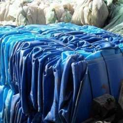 Drums Regrind/HDPE Blue Drums Flakes/HDPE Drums Scrap For Sale