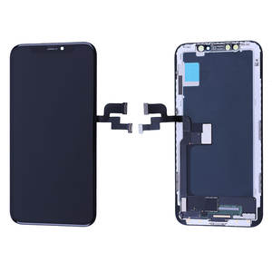EBR OEM OLED LCD for iPhone X LCD Display Touch Screen With Digitizer Replacement Soft Hard OLED Repair Parts