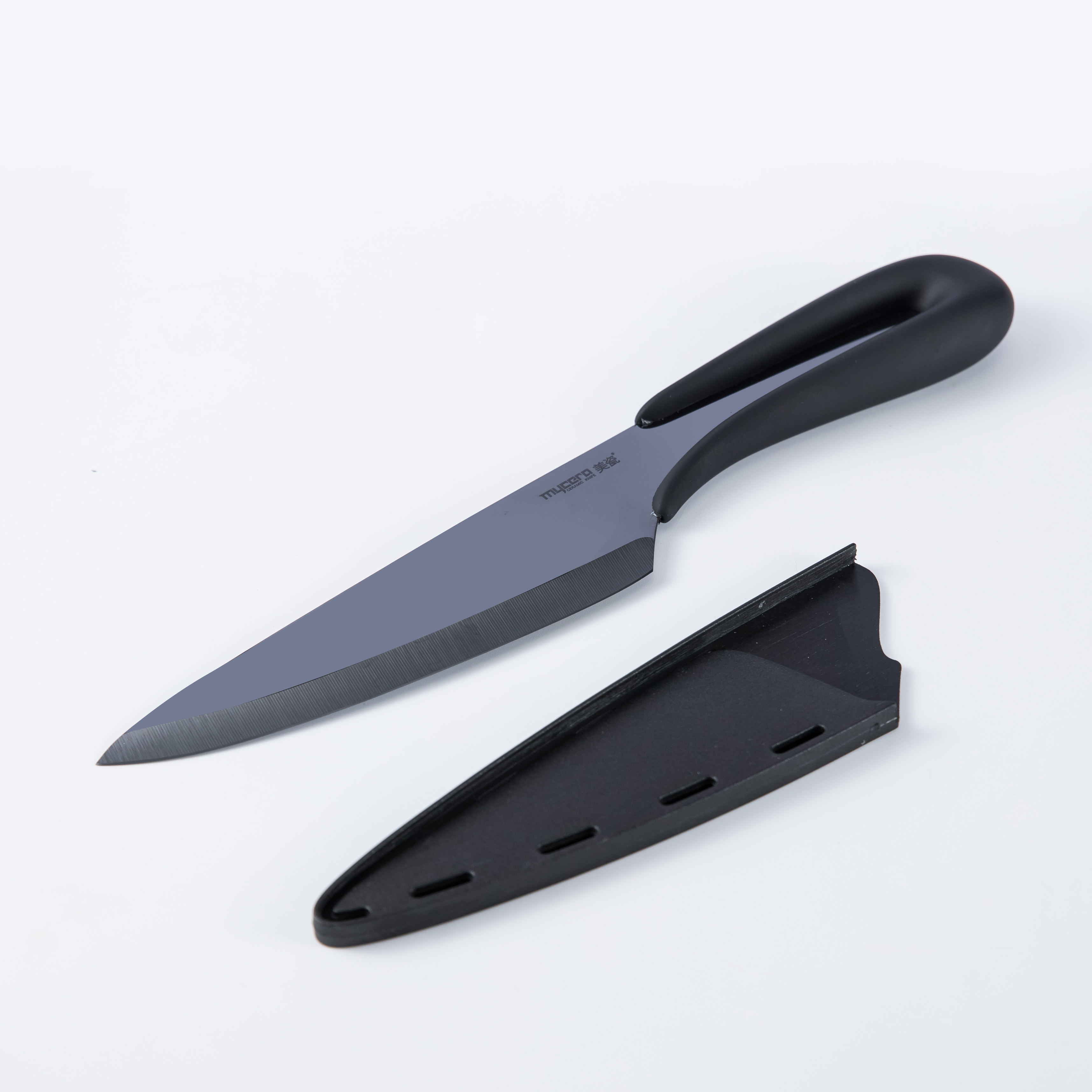 Healthy Cutting Black Blade Ceramic Chef Knife