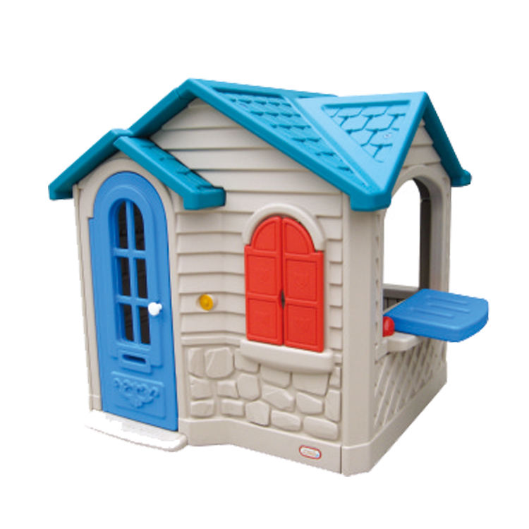 Cheap kids plastic playhouses for kids outdoor baby house OL-FZ013