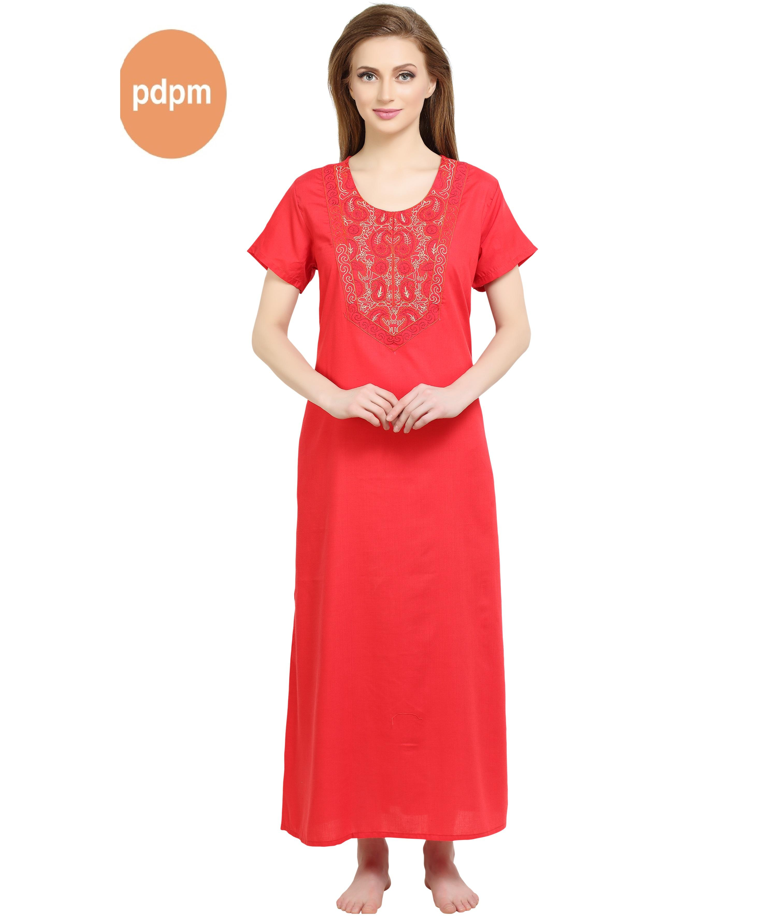 Cotton Nightgown For Women