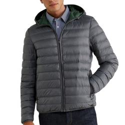 Custom Causal Men Winter Latest Design Fashion Simple Plain Hooded Padded Bubble Puffer Jackets Soccer Rugby Football