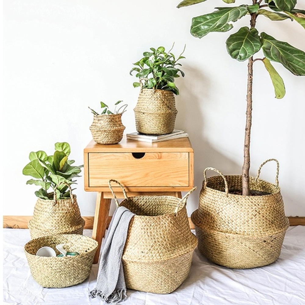 Sea grass Basket with Handles