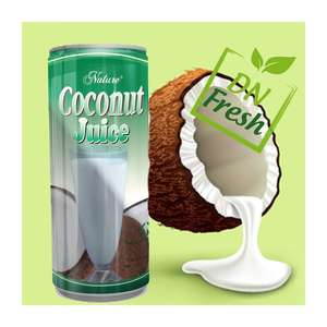 Uw Merk/Private Label Voor Ingeblikt Fruit Juice_Coconut Melk Product