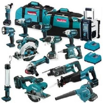 Authentic Makitas LXT1500 18-Volt LXT Lithium-Ion Cordless 15-Piece Combo Kit / power tool / cordless drill