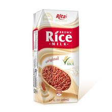 High Quality Health Drink 200 ml Aseptic Pak Brown Rice Milk