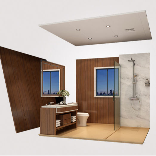 China prefabricated bathroom units pods for hotel