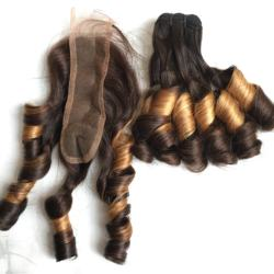 Vogue Curly Color Hair  -100%Vietnam Human Hair- Best Wholesale price
