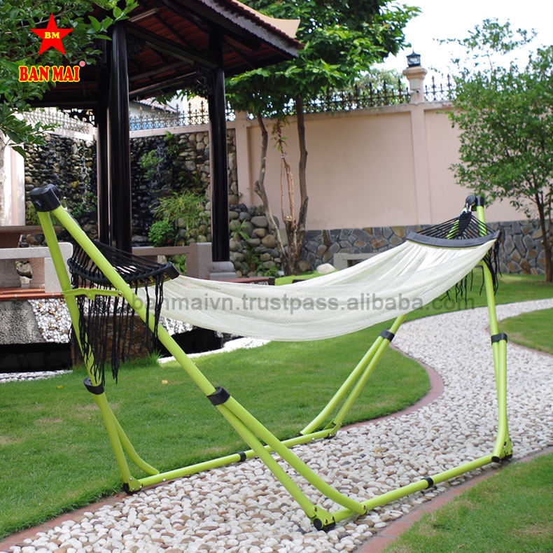 High Grade For Anti Slip Vip Metal Frame Baby Hammock Swing With Stand Spring Vietnam
