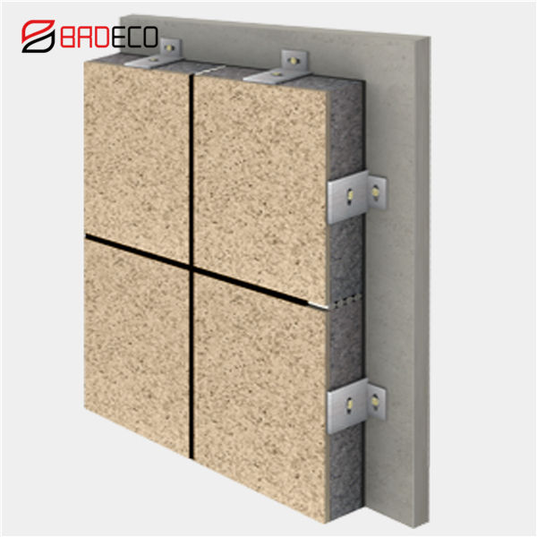 Fireproof High Density External Wall Cladding Insulation Decorative Panel