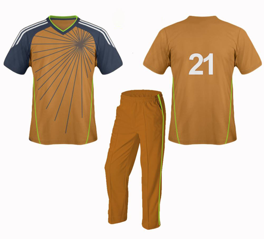 High quality cricket uniform sets sublimated mens cricket uniform with brand logo and team name jersey
