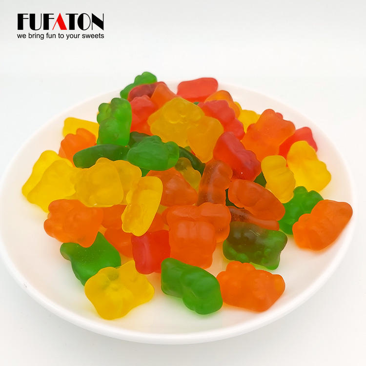 Manufactory Wholesale fruit flavored halal gummy bears