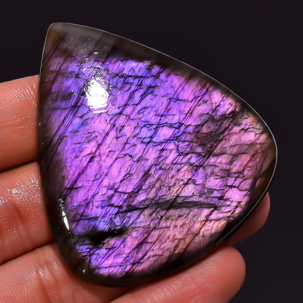 purple Fire Labradorite Free Form And Size Gemstone Cabochons
