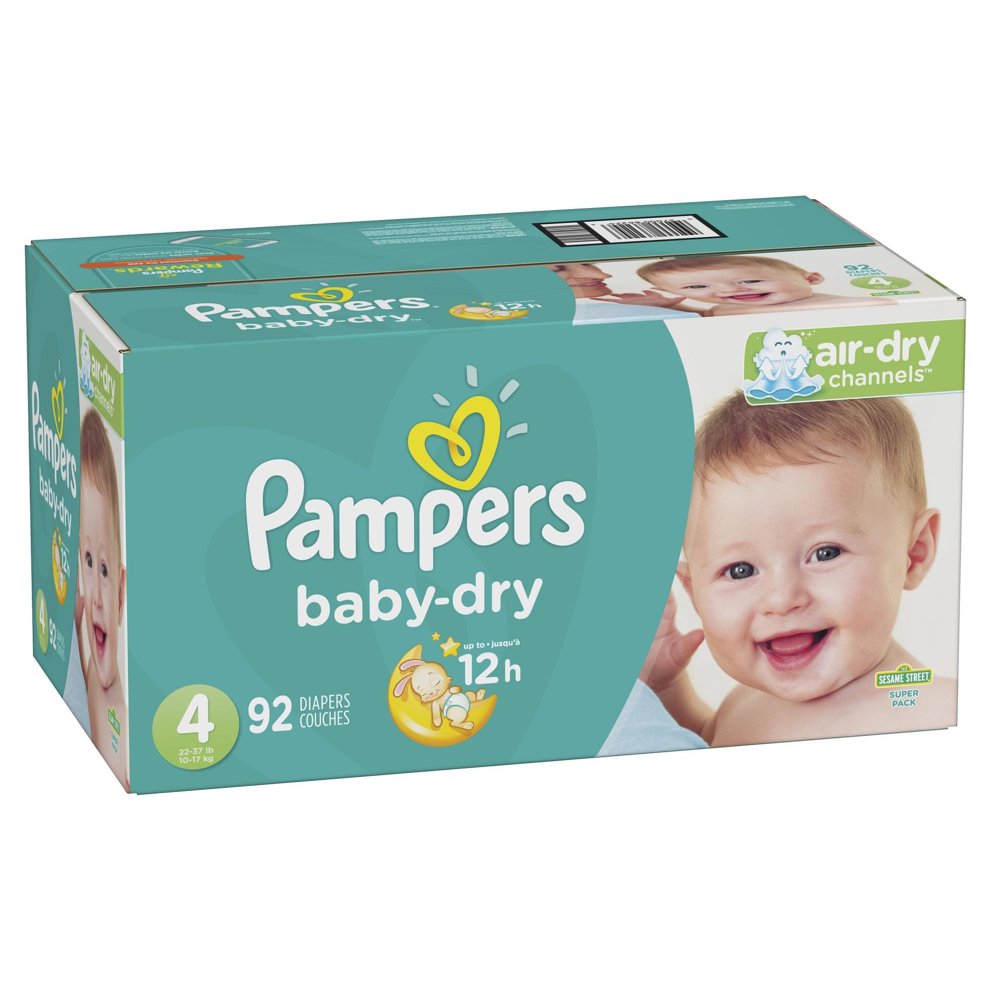 Fraldas Pampers Baby-Dry Proteção Extra, Tamanho 4, 92 <span class=keywords><strong>ct</strong></span> (Whatsapp + 31687905625)
