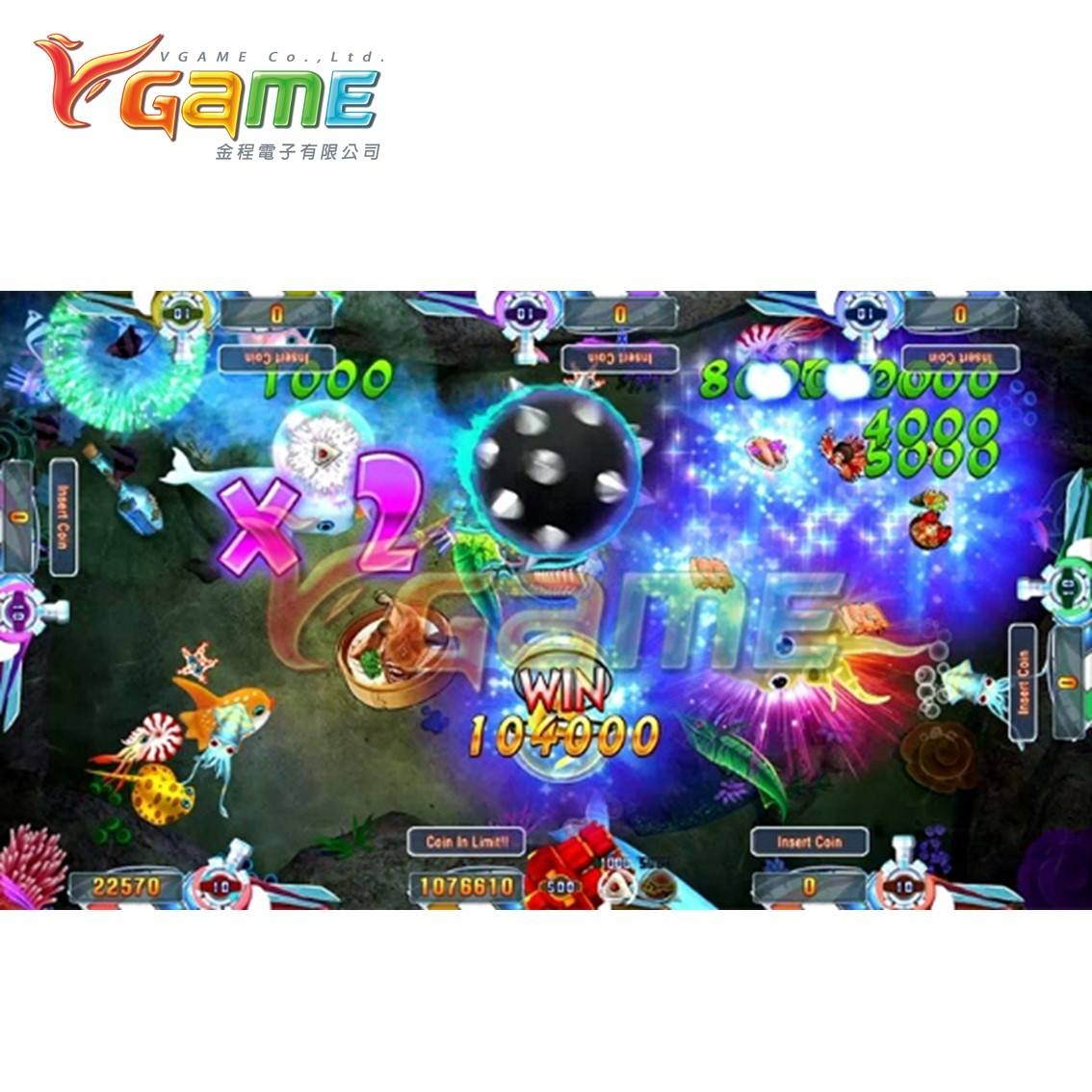 VGAME Hot Item Arcade Machine for Amusement Park