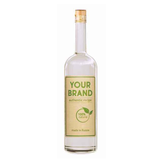 Private label standard vodka 1 L from Russia