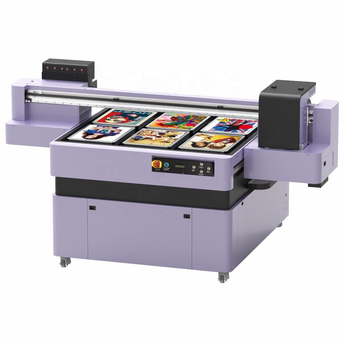 Factory Outlets Wide Format 120*90 Cotton Printing Machine High Definition Dtg Printer T-Shirt Textile Printing Two Print Heads