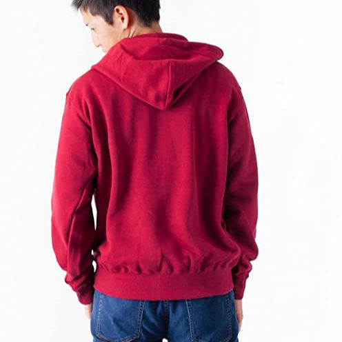 Sans serif set 10.0oz Solid sewing Full Zip Sweatshirt