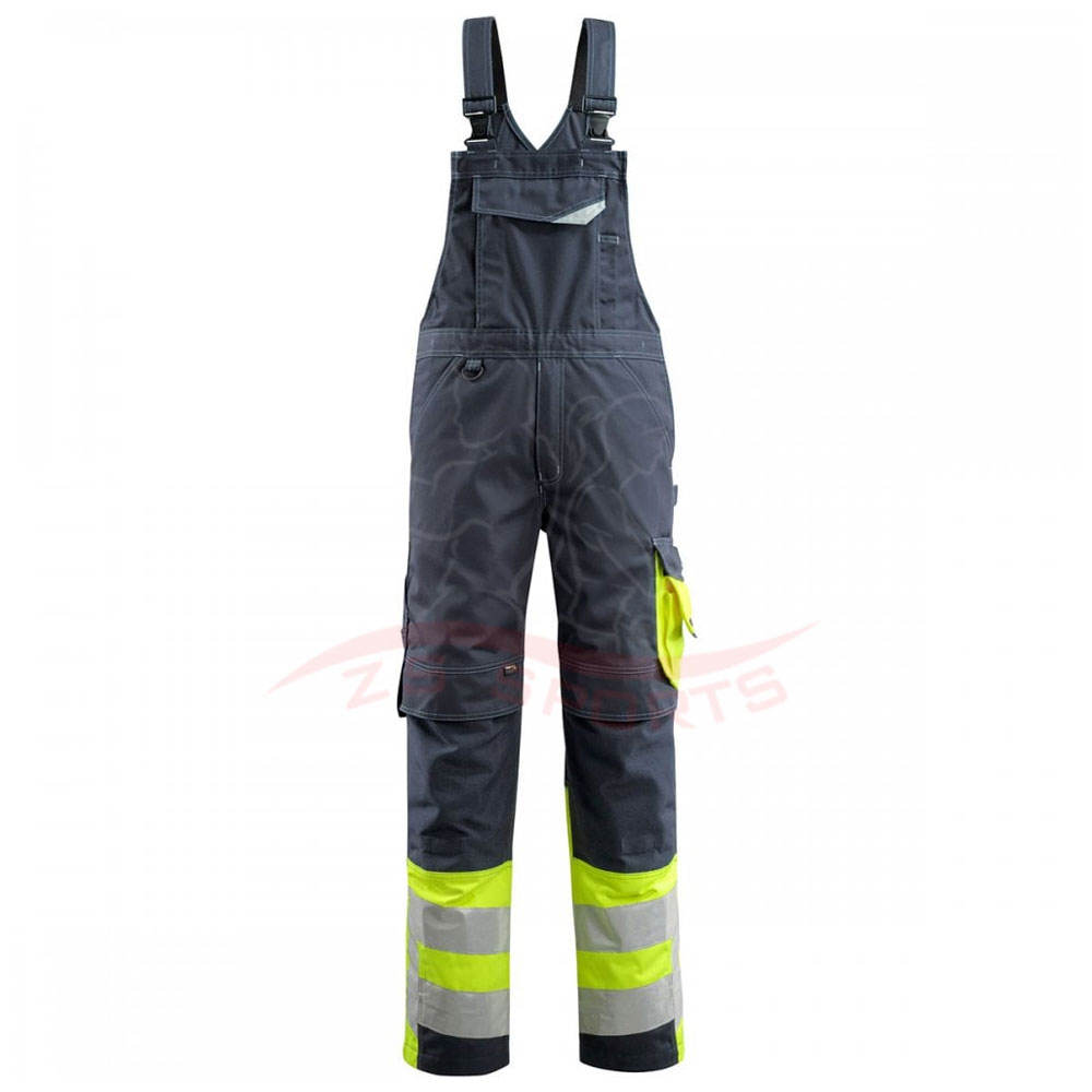 Factory Supply Hochleistungs-Langlebige Baumwolle Made Custom ized Mechanic Working Lätzchen Overalls Zum Verkauf