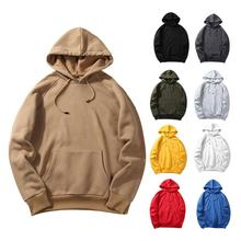 Jumper Winter Sweater Men's Warm Hoodie Hooded Sweatshirt Coat Jacket Outwear